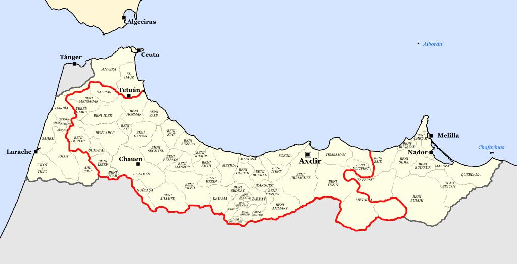 Region Rif au Maroc