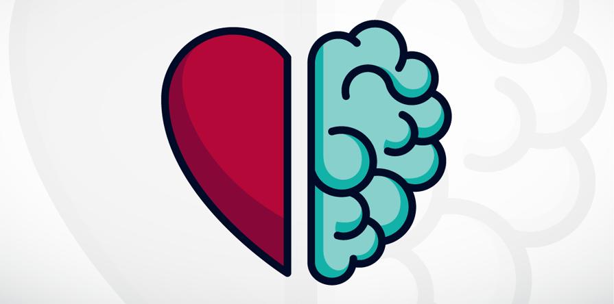Le cerveau dans le coeur